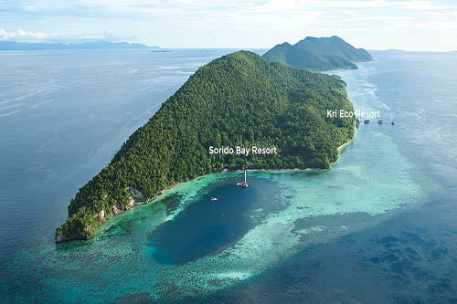 Sorido Bay Indonesia